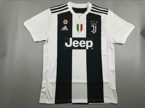 4d7e863ce0b3c Camisetas Fútbol Juventus Nuevas De Local 2018 2019