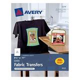 Transmisiones De Camiseta Avery Dark, Mate, 8-1 / 2  X