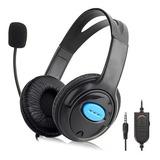 Audifonos Gamers Ps4 Con Microfono Estereo Sonido 7.1