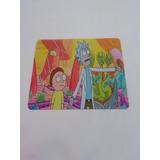 Pad  Mouse  Anime Rick Morty  21.5 X 18 Cm Aprox