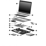 Notebook Dell Latitude D620, En Desarme