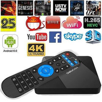 Dolamee D5 Smart Android6.0 Tv Box Quad Core Wifi Dlna 4k...