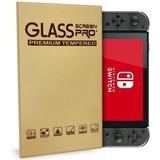 Lamina Templada Mica Protectora De Vidrio Nintendo Switch
