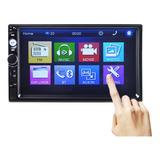 Radio Auto Doble Din Tactil 7 , Bluetooth, Aux, Control