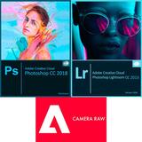 Photo-shop Cc 2.018 + Light-room + Camera Raw. Mac / Windows