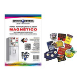 10 Hojas Papel Fotográfico Magnético Glossy A4 - Electronika