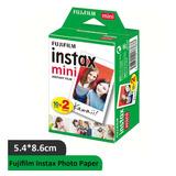 20 Fotografías Fujifilm Instax Mini Iso 800 Cartucho De Tin