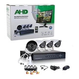 Cctv Kit De Seguridad Dvr + 4 Camaras