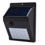 Luz Lámpara De Pared Foco Led Solar 30 Led Exterior /003222