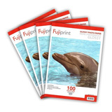 Pack 4 Resmas (400hjs) Papel Foto Glossy A4 180grs 100 Hojas