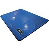 Enfriador Cooler Metalico Ventilador Notebook Rca Cl-022bl