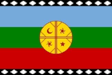 Bandera  Mapuche 60 X 100/ Sanfex - S0079