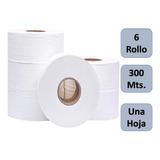 Papel Higiénico Industrial  300 Mts X 6 Rollos Ecosoft