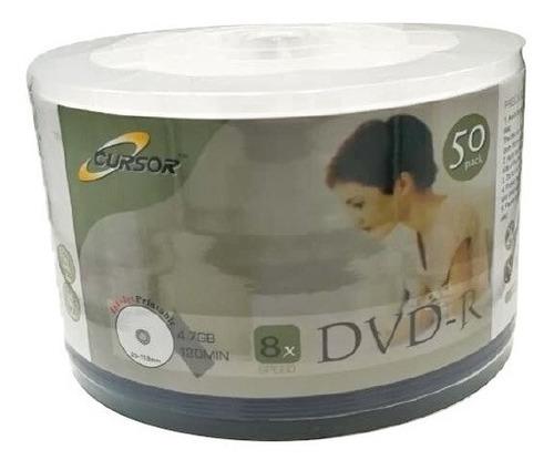 Dvd R 8x 4.7gb Logo Cursor Pack 50
