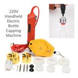 220 V, 13 Piezas, Máquina De Tapar Botellas Eléctricas De Ma