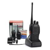 Kit 2 Radio Transmisor Walkie Walkie Baofeng 666s / 05164