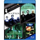 The Matrix Collection Bluray Remasterizada Latino 4 Films