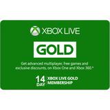 Xbox Live Gold 14 Dias- Codigo Digital - Transferencia