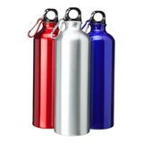 Botella De Agua Aluminio Con Rosca 750ml -  Impowick