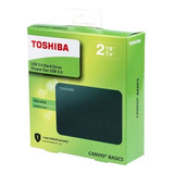 Disco Duro Externo Toshiba Canvio + 2 Tb + Usb 3.0