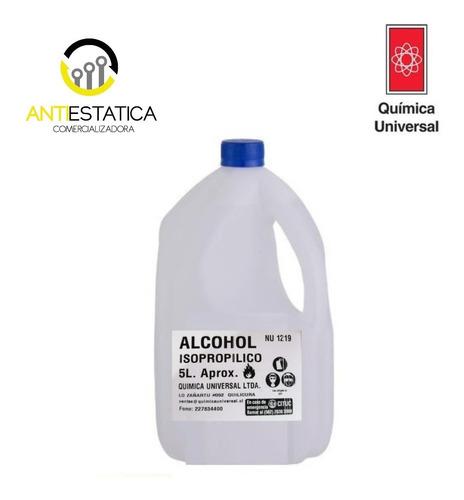 Alcohol Isopropilico 5 Litro 99,% Limpieza