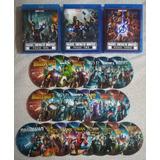 Coleccion Universo Marvel Ucm Blu-ray Bd25