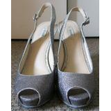 Zapatos Plateados Guess