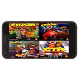 Colecion Crash Bandicoot Ps1 Español Para Android