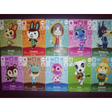 Tarjetas Animal Crossing Pack 5 Unidades