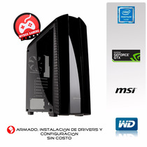 Pc Gamer Pentium 2 Núcleos/4 Hílos, Video Nvidia Gtx1050 2gb