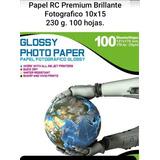 600 Hojas De Papel Fotografico Premium Rc 10x15.envío Gratis