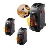 X3 Calefactor Portátil Handy Hearte 400w Ml0758