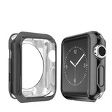 Protector Carcasa Apple Watch En Negro Serie 1 /2 /3 / 4
