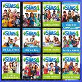 Sims 4 Colección 2018 Selva + Mascota + Las 4 Estaciones