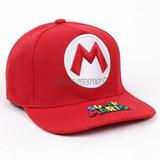 Gorra Béisbol Bordada (jockey), S. Mario Bros + Envío Gratis