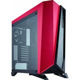 Gabinete Corsair Spec Omega Tempered Glass Negro/rojo