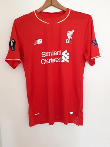 a07fae555d242 Camiseta Liverpool 2016 2017