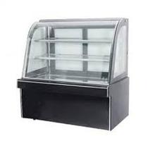 Mesón Vidrio Curvo (pastelero) Premium