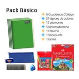 Pack Escolar Básico Colegio Lista Útiles / C & S Market