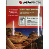 Papel Fotografico 10x15 Glossy 210 Grs