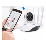 Camara Ip Robotizada 3 Antenas Cctv Wifi Hd Alarma