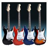 Pack Guitarra Eléctrica + Amplificador 5w + Envío Jayma