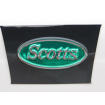 Logo Scotts Riggs. 8x3.5 Cm - Made In Usa - Tunning Llantas.