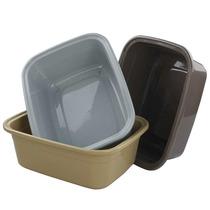 Pekky Plastic Dish Pan 12 Quart 3 Pack
