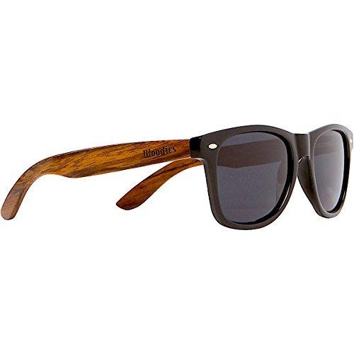 Woodies Wayfarer Nogal Madera Gafas De Sol Con Lentes Polar 6f0dd5288f77