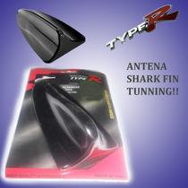 Antena De Vehiculo, Cola Tiburon Tunning, Adhesivo