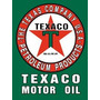 Texaco - Letrero Metálico 41 Cm X 32 Cm