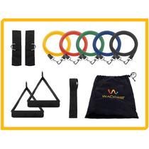 Kit 5 Bandas Elasticas Para Fitness - P90x - Crossfit - Yoga