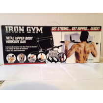 Barra Iron Gym Original Y Nueva