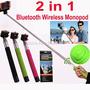 Extensible Wireless Handheld Monopod Para Iphone Cámara Mono